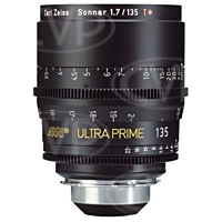 ARRI / Zeiss UltraPrime T1.9 / 135mm PL mount prime lens with METRIC scale (K2.52121.0)