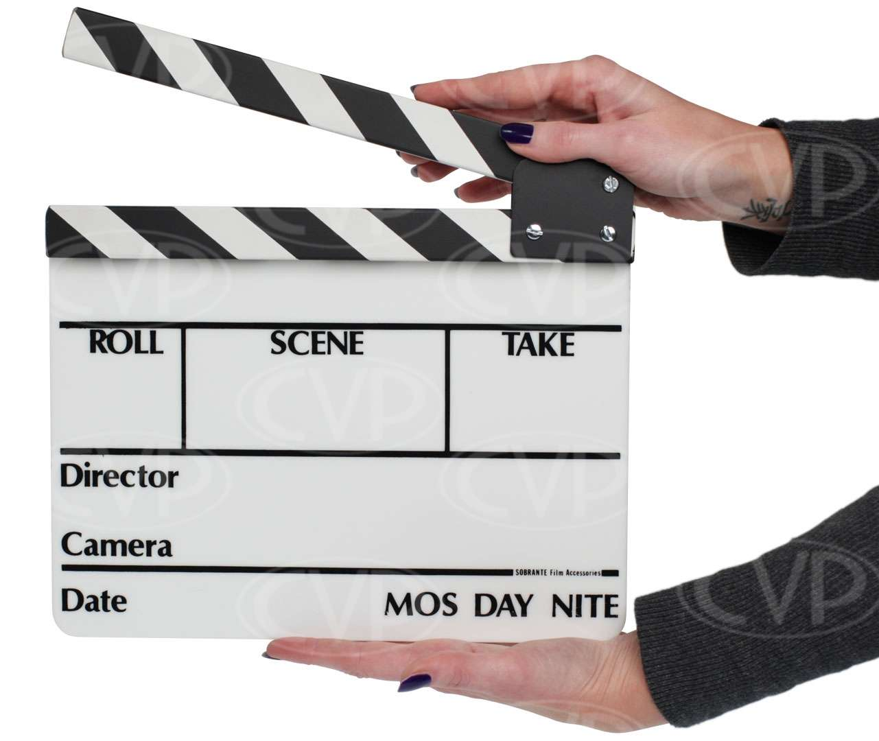 High quality acrylic clapperboard