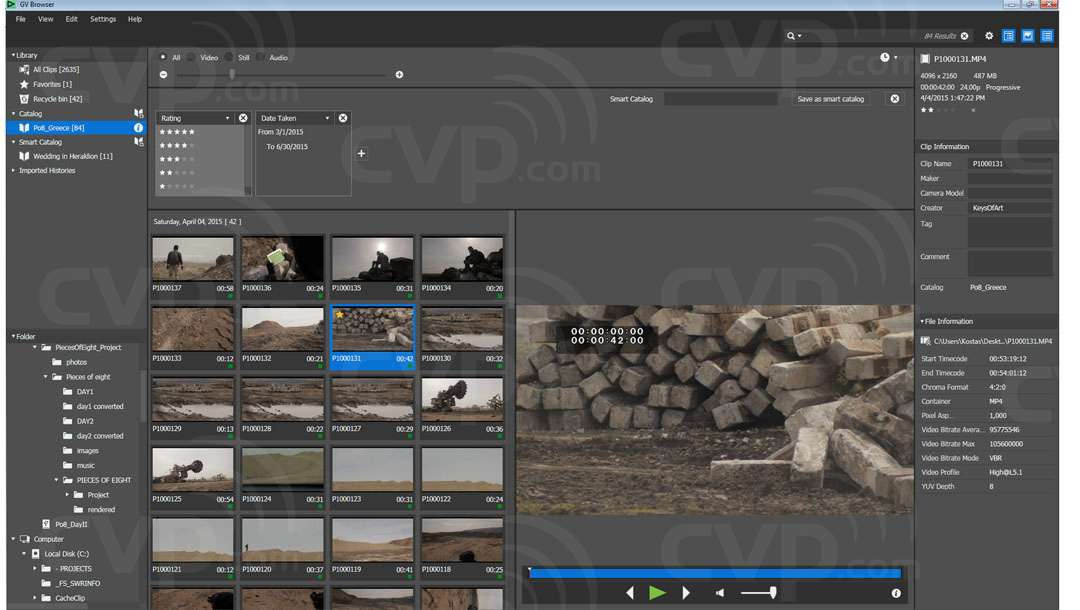 Grass Valley EDIUS Pro 8 Versatile real-time Editing Software (Supports