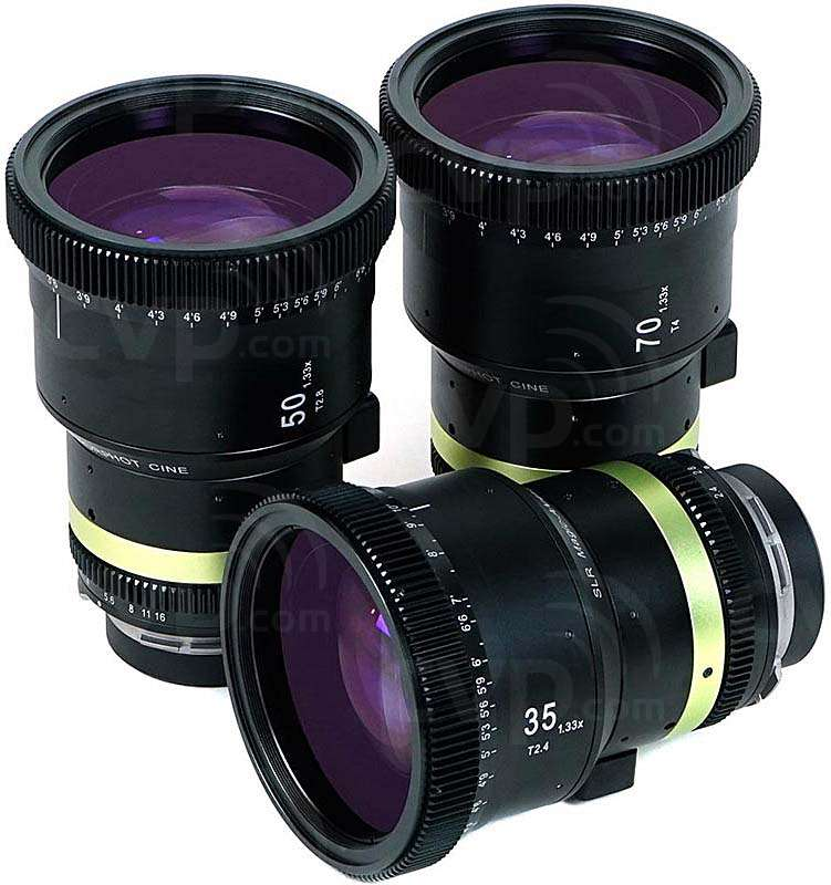 SLR Magic Cine 3-Lens Set - PL - SLR-AC133PLSET