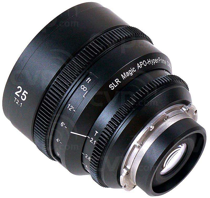 SLR Magic HyperPrime 3-Lens Set - PL - SLR-APO2555085SET