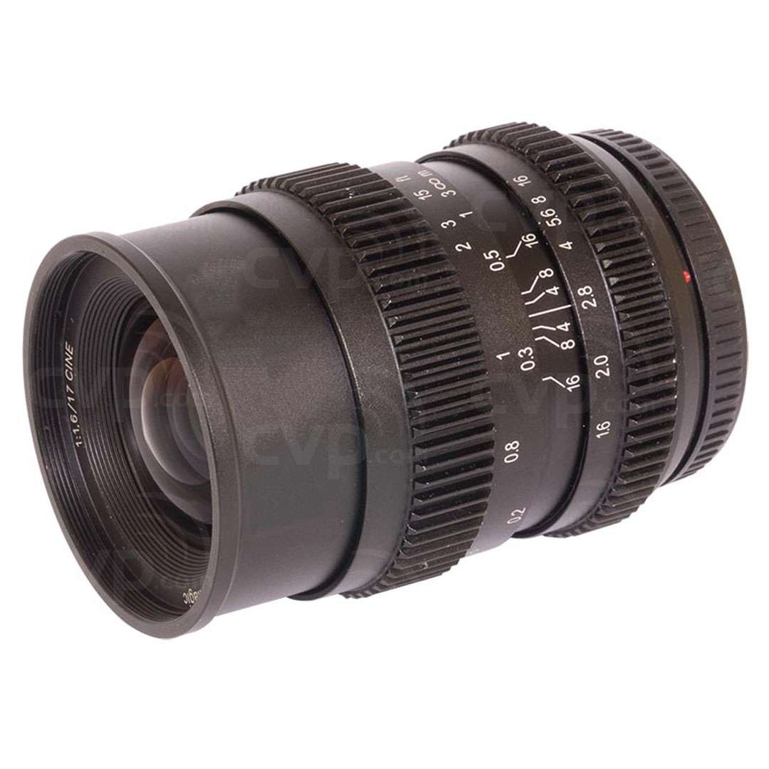 SLR Magic SLR-1716MFT CINE 17mm T1.6 Lens
