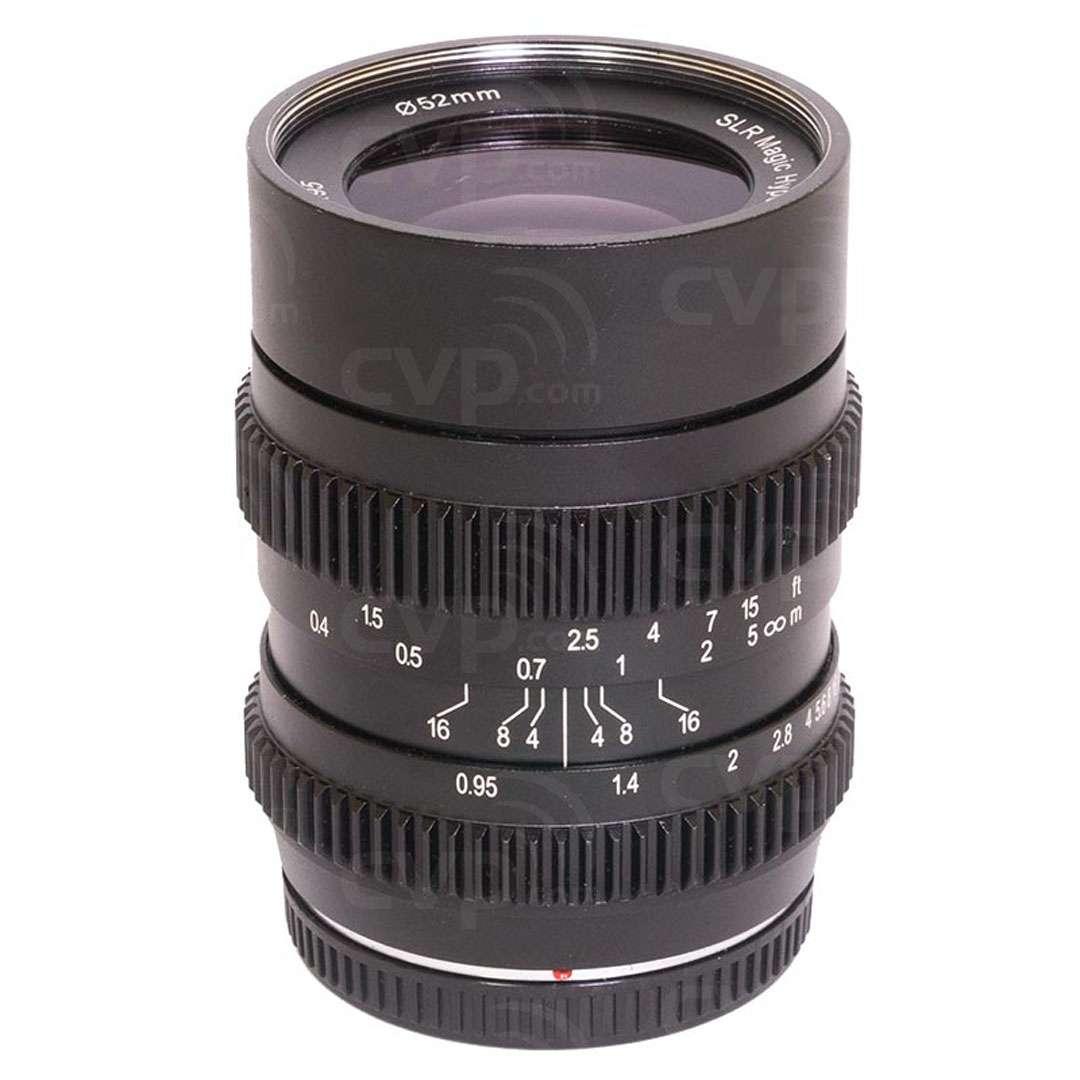 SLR Magic SLR-2595MFT HyperPrime CINE III 25mm Lens
