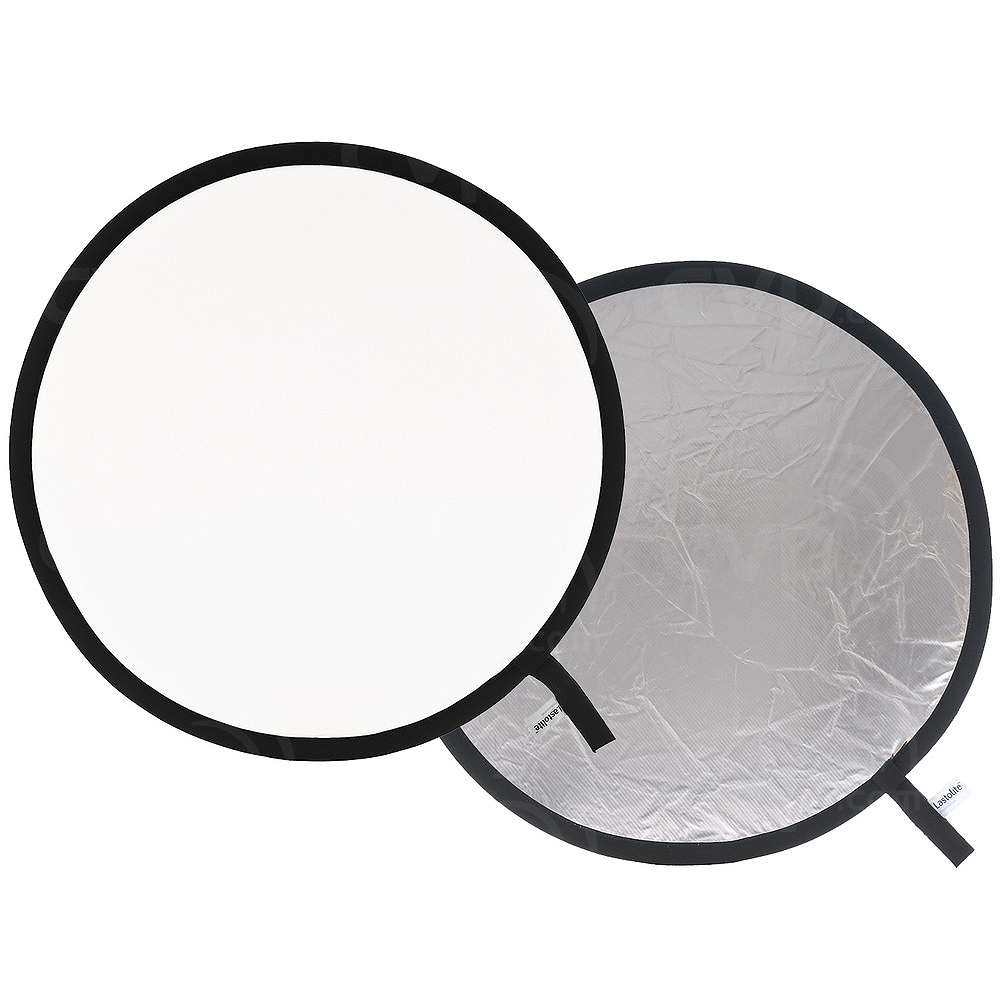 Lastolite (3831) 95cm Double Sided Reflector (Silver - White)