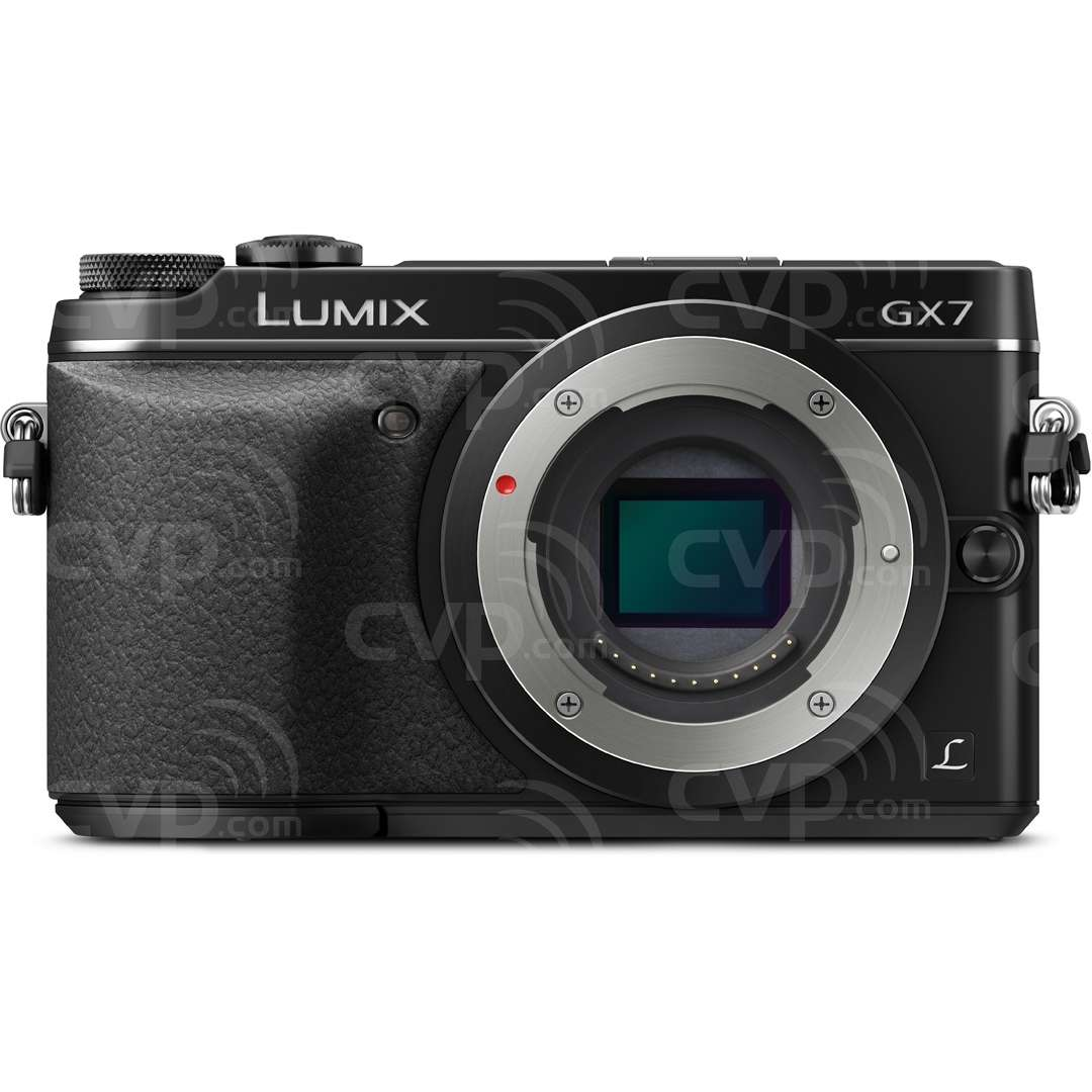 Panasonic DMC-GX7 (DMC-GX-7) LUMIX 16MP Compact System Camera with a MP LIVE MOS Sensor And Full HD Video, Available in Black or Silver (Body Only)