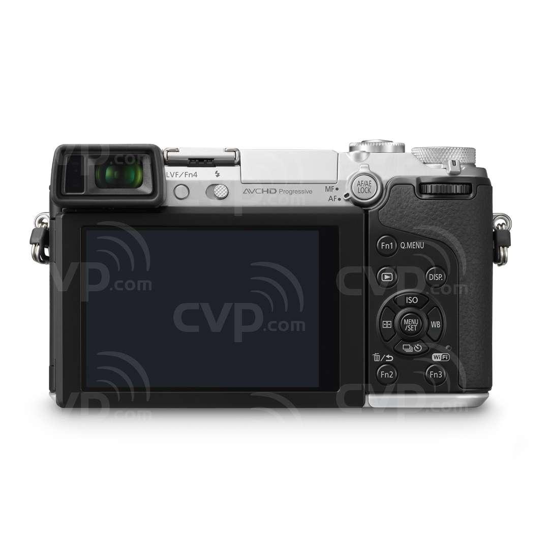 Panasonic DMC-GX7 (DMC-GX-7) LUMIX 16MP Compact System Camera with a