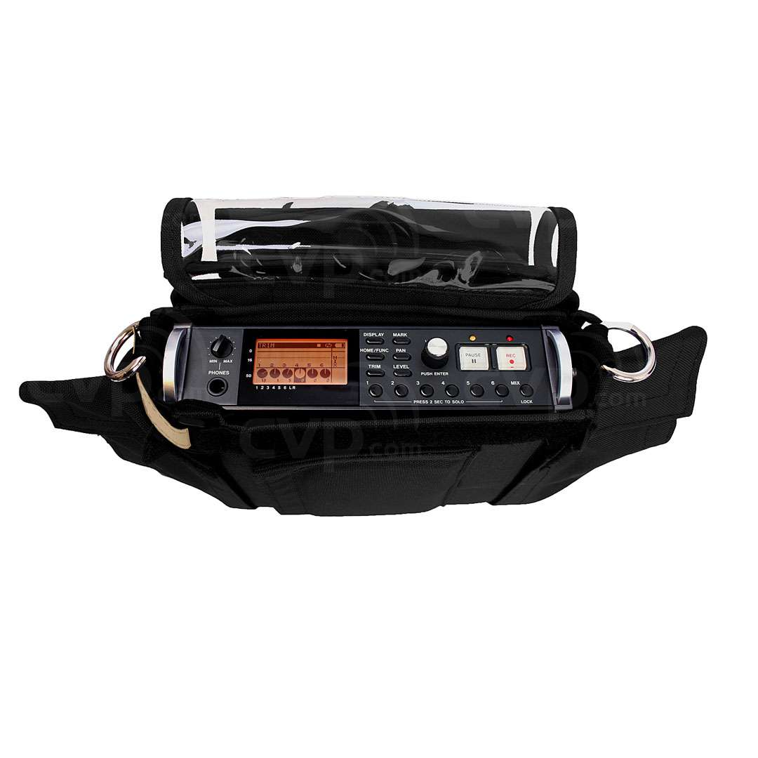 Portabrace AR-DR680B (ARDR680B) Audio Recorder Case for Tascam DR680 Audio