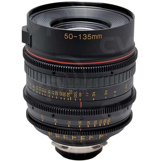 Tokina (7229) 50-135mm T3 Cinema ATX Lens - PL Fit