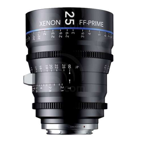 Schneider Xenon 25mm T2.1 FF Prime Lens - PL (ft)
