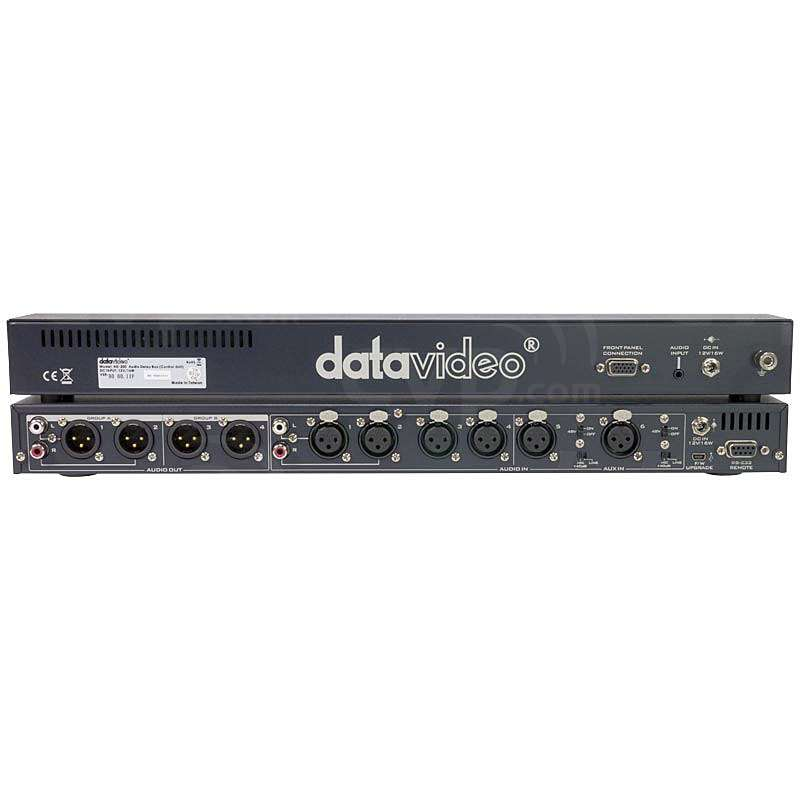 Datavideo DATA-AD200 (DATAAD200) AD-200 1RU Audio Mixer / Delay Box