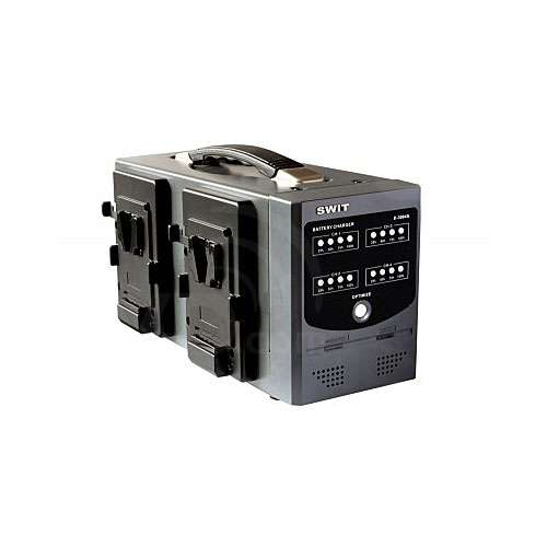 Swit Electronics D-3004S (D3004S) 4 Channel Digital, Intelligent Simultaneous Charger