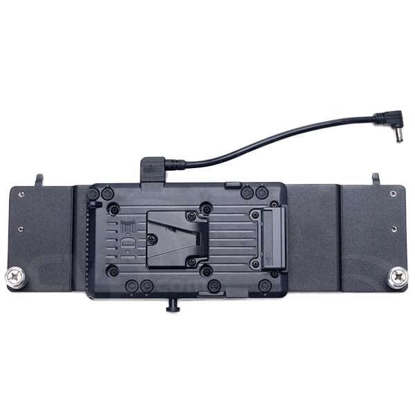 Litepanels 1DVVAP (1DV-VAP) 1X1 v-mount battery adapter plate, includes 2-pin
