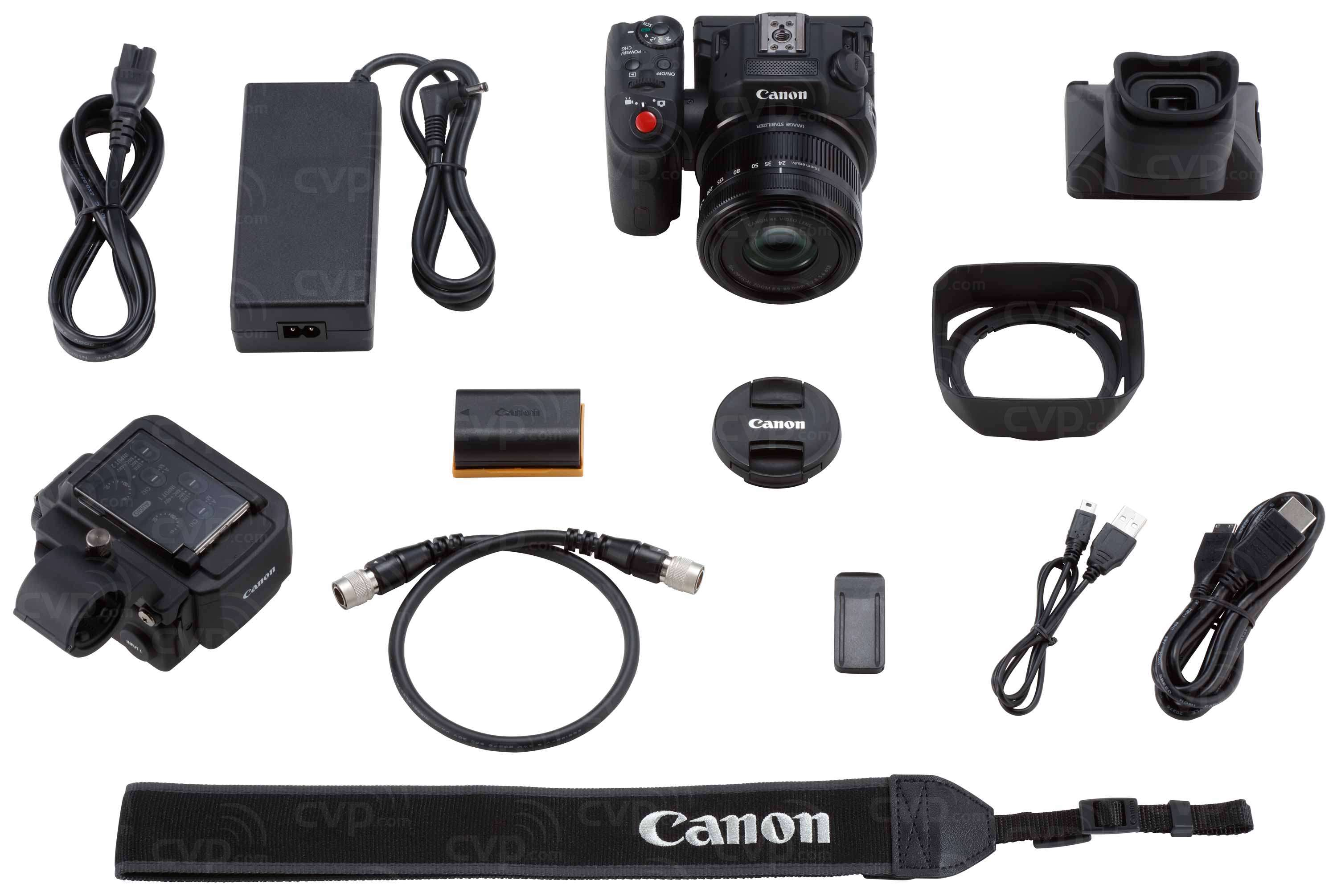 Canon XC15 - Compact 4K UHD Video Camera with 1-Inch