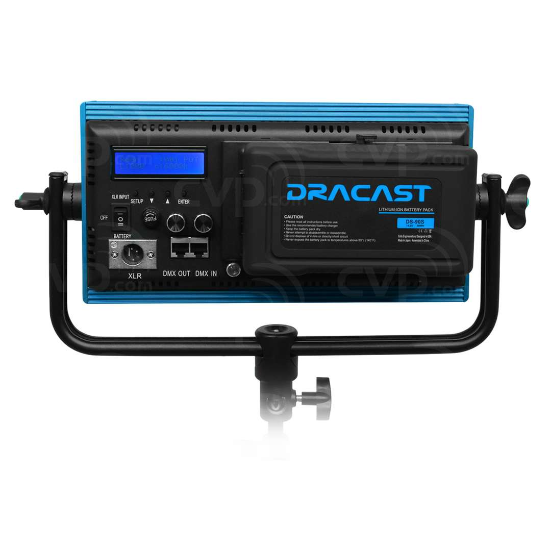 Dracast LED500 Plus DMX Video Light - Available in Daylight,