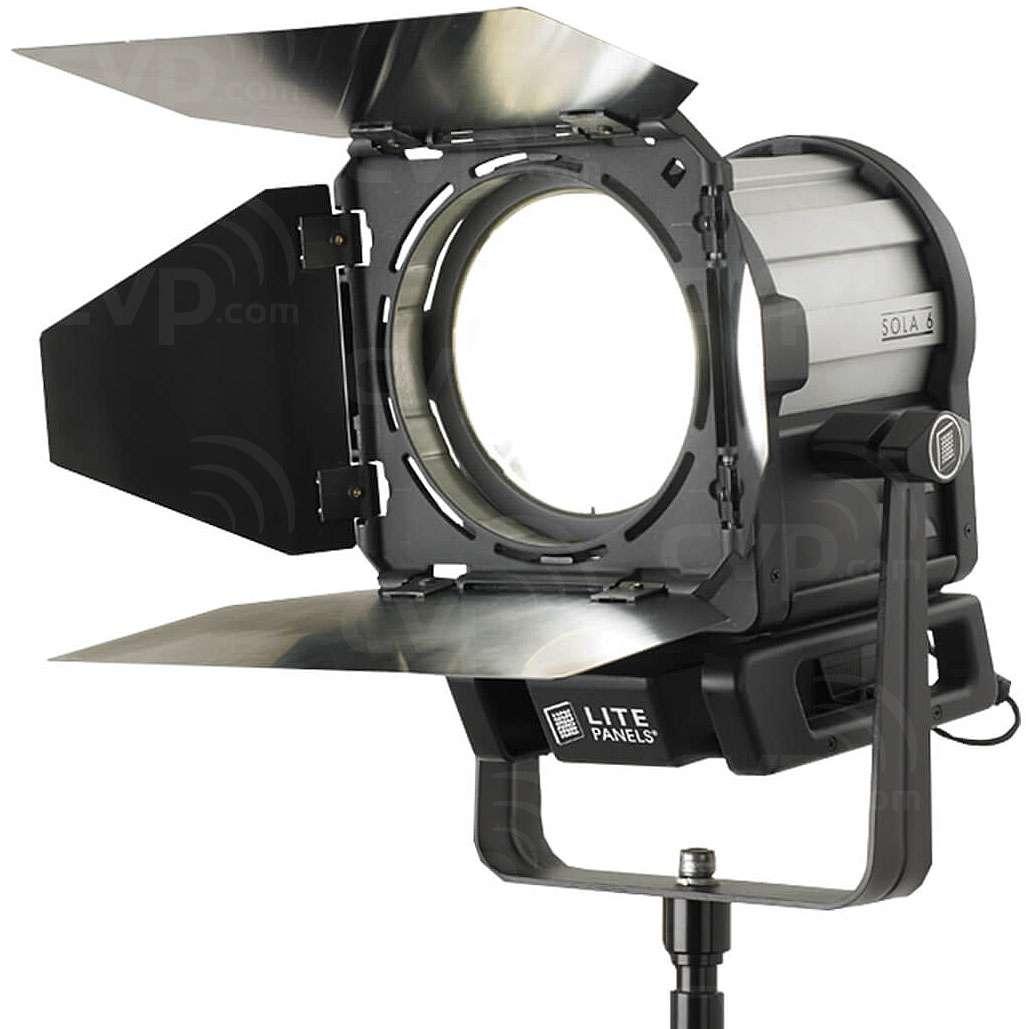 Litepanels Sola 6C Daylight LED Fresnel Fixture with 6-inch lens