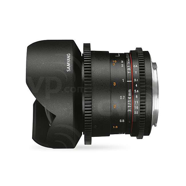 Samyang 14mm T3.1 VDSLR ED AS IF UMC II Lens