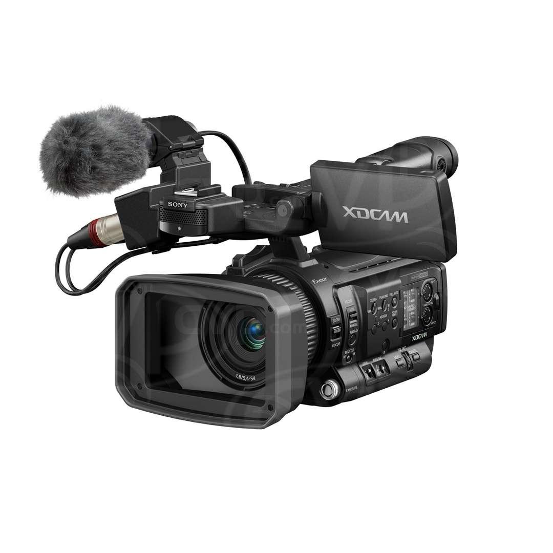 Sony PMW-100 Side view