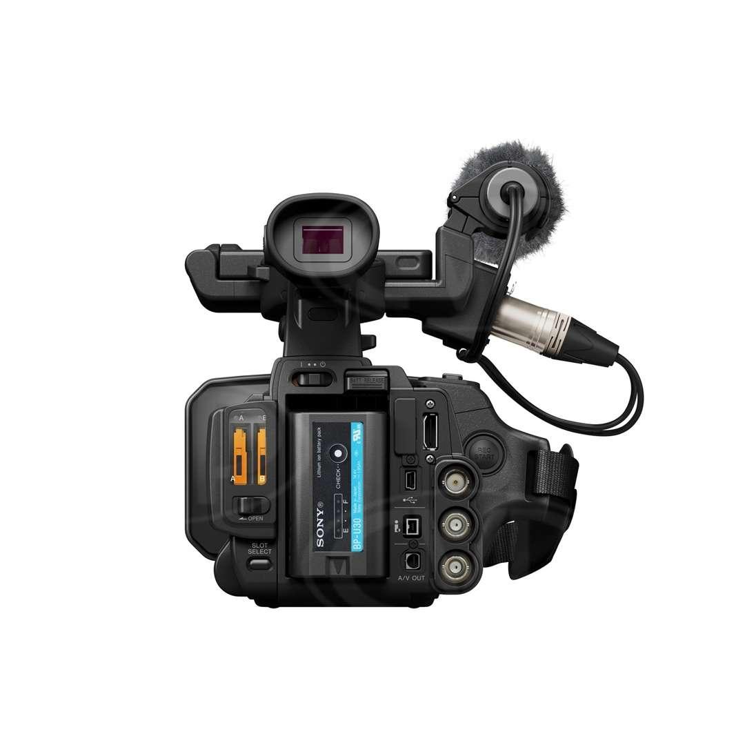 Sony PMW-100 Rear view