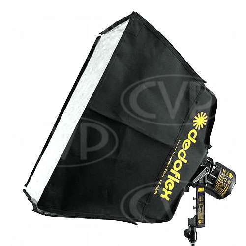 Dedolight Dedoflex DSBSXS (DSB-SXS) 30x30cm Softbox Silver Diffuser Kit for