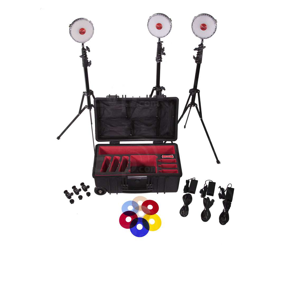 Rotolight Neo 3 light Kit with Hard Roller case plus