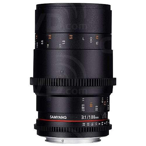 Samyang 100mm MAC T3.1 VDSLR ED UMC Macro M4/3 Lens