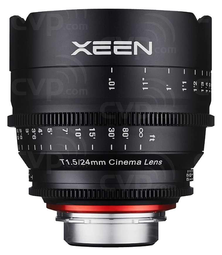 SamyanSamyang XEEN 24mm T1.5 Cine Lens for PL Mount