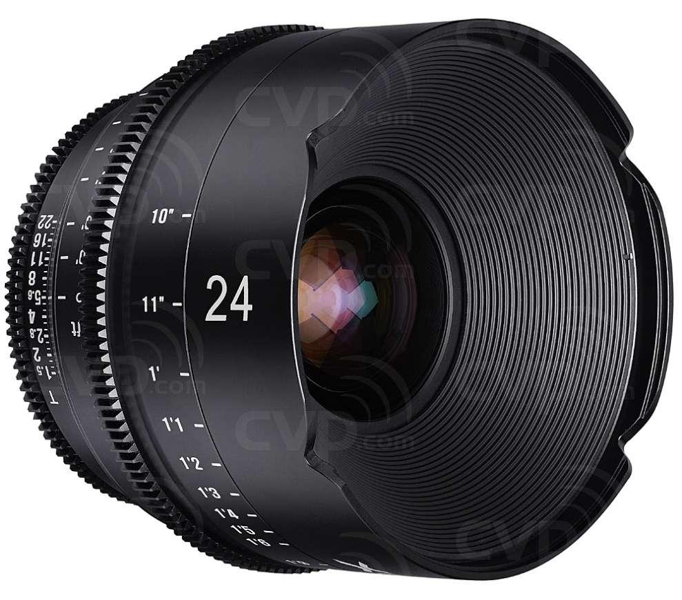 Samyang XEEN 24mm T1.5 Cine Lens for PL Mount