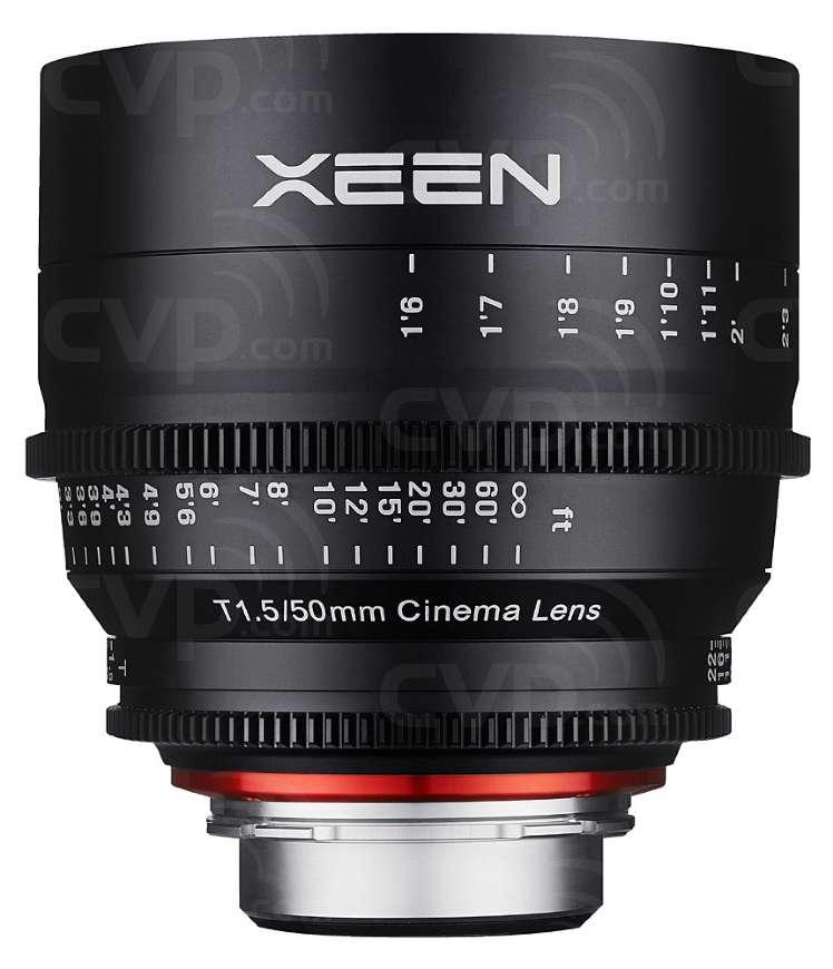 Samyang XEEN 50mm T1.5 Cine Lens for Canon EF Mount