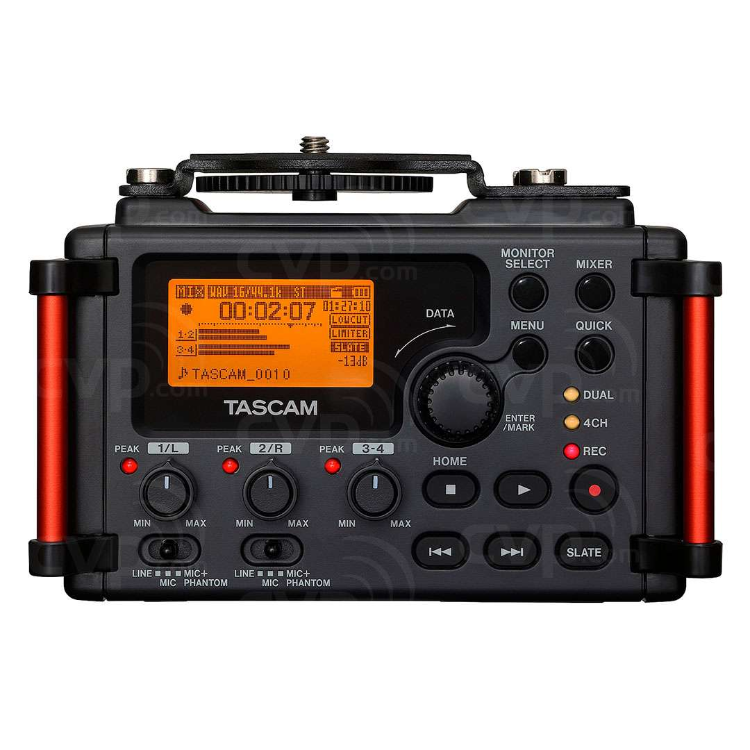 Rear View Tascam DR-60D MkII