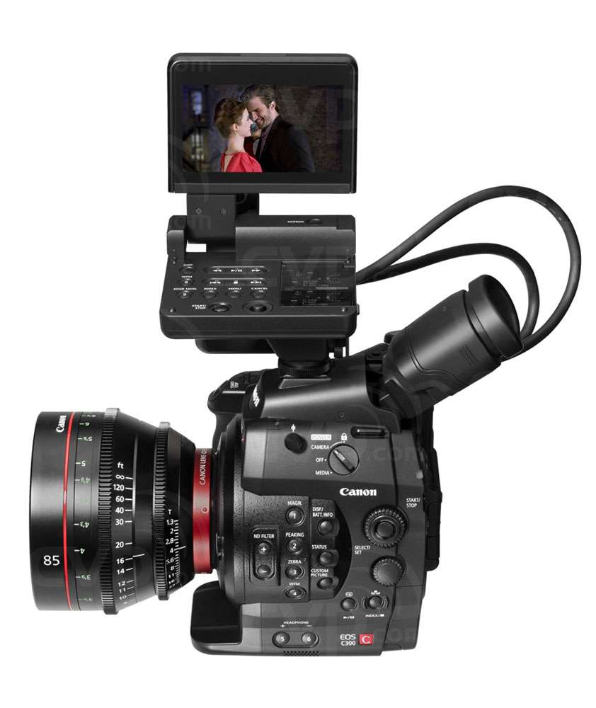 Canon Cinema EOS C300 85 with monitor (lens not supplied)