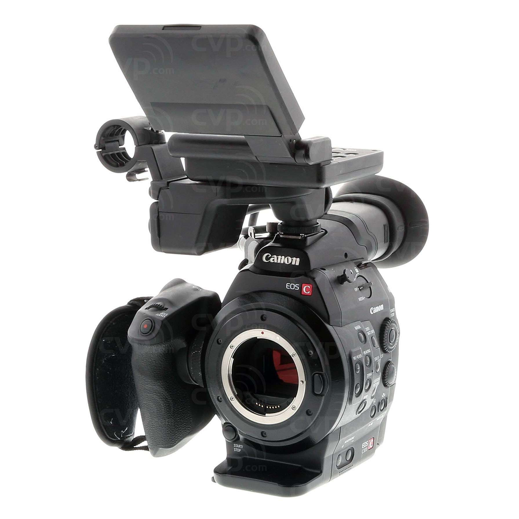 USED Canon Cinema EOS C300 EF (C-300, 300C, EOS) Super 35mm Digital Cinematography Camcorder with EF Lens Mount