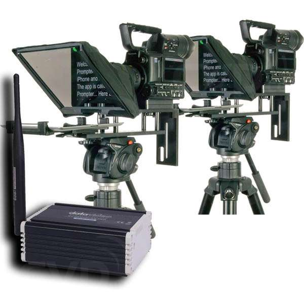 Datavideo DATA-DVP100KIT DVP-100 2 Camera Multi-Teleprompter Control System Kit
