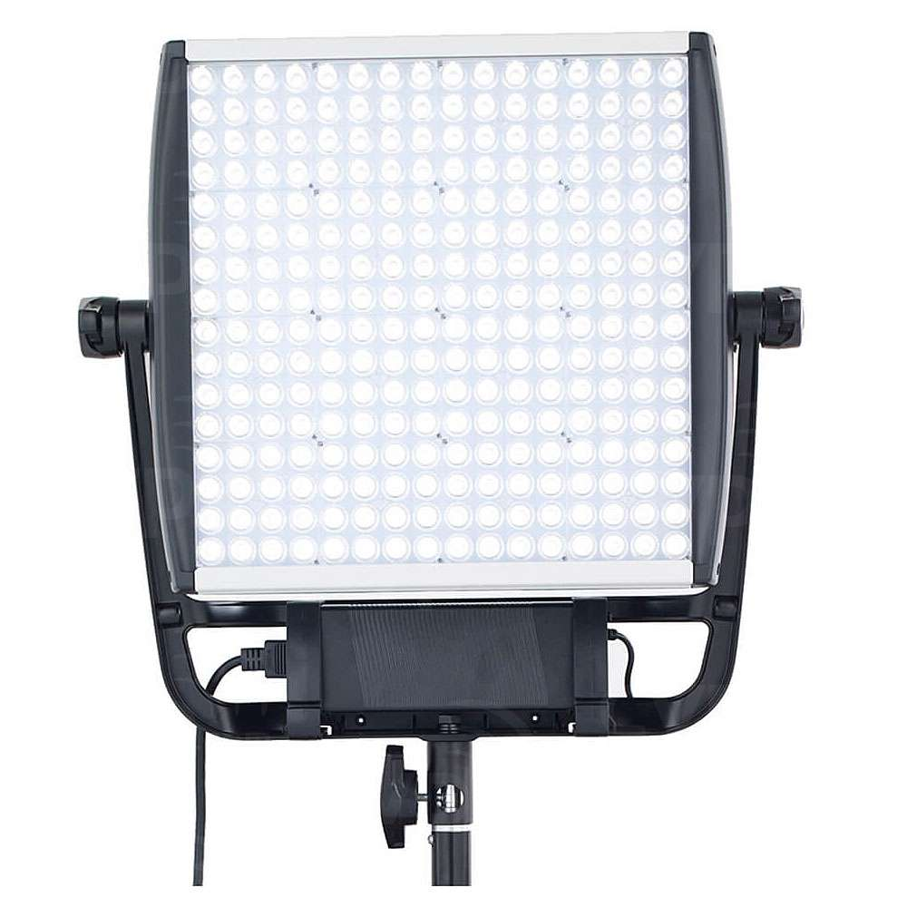 Litepanels Astra 1x1 Daylight LED panel including Manual Yoke, Power