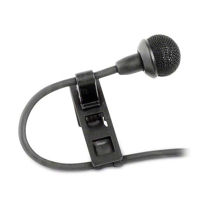 Sennheiser MKE 2 Digital Plug-in Professional Tie Clip Microphone for