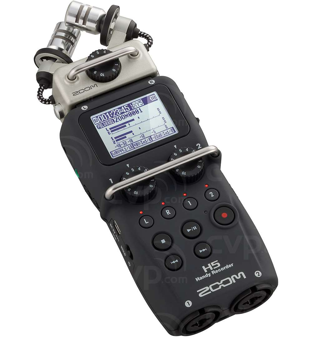 ZOOM H5 (H-5) Battery Powered, Handheld, Portable Digital Recorder