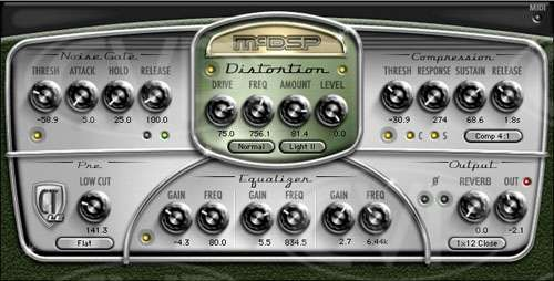 Chrome Tone LE - Guitar Amp Modelling for Pro Tools