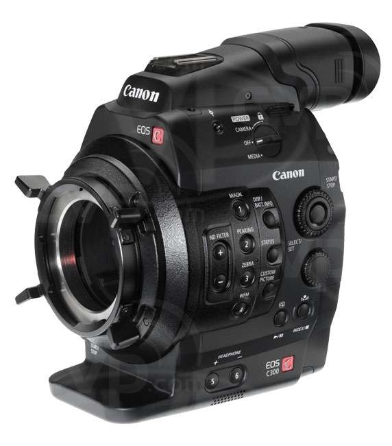 Used Canon Cinema EOS C300 PL super 35mm Full HD