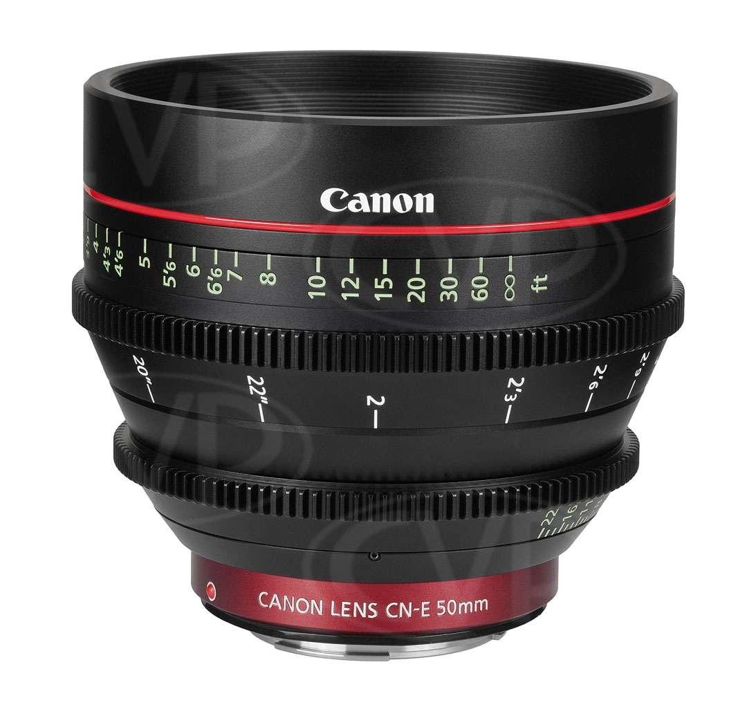 Canon CN-E 50mm T1.3 L F EF Mount Digital Cinema