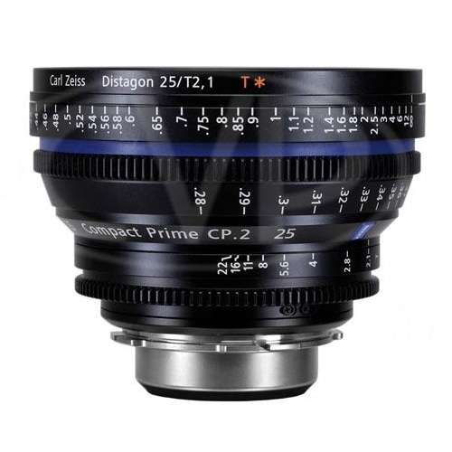 Carl Zeiss Compact Prime CP.2 25mm / T*2.1 PL Mount