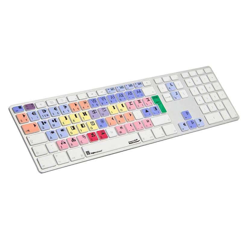 Logic Keyboard Avid Media Composer MAC LogicSkin 4-8 FS