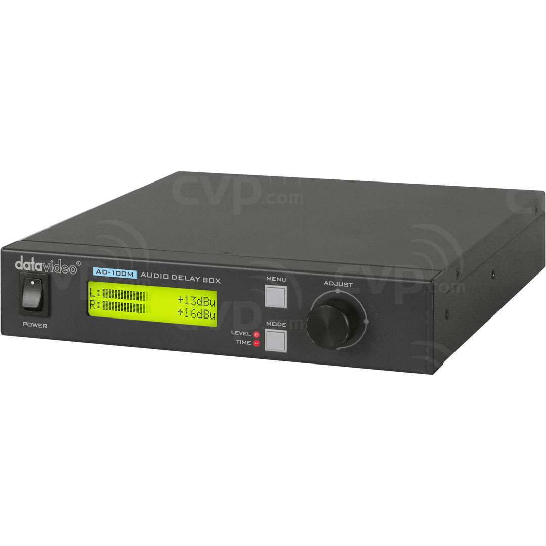 Datavideo DATA-AD100M (DATAAD100M) AD-100 Audio Delay Box with Microphone Input