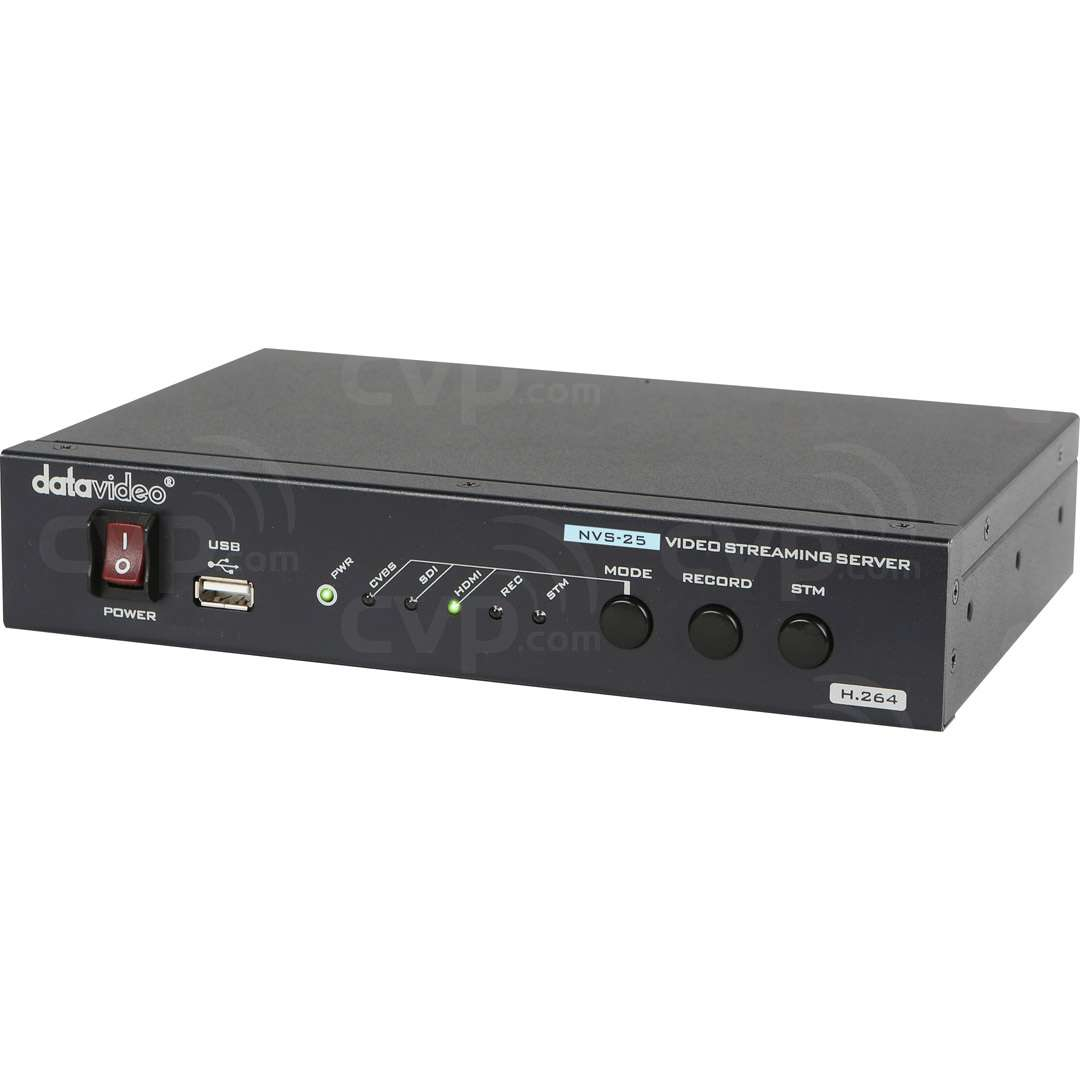 Datavideo DATA-NVS25 (DATANVS25) H.264 Streaming Server and Recorder