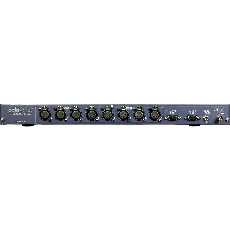 Datavideo ITC-100 (ITC100) 8 Way Intercom System c/w 4 headsets