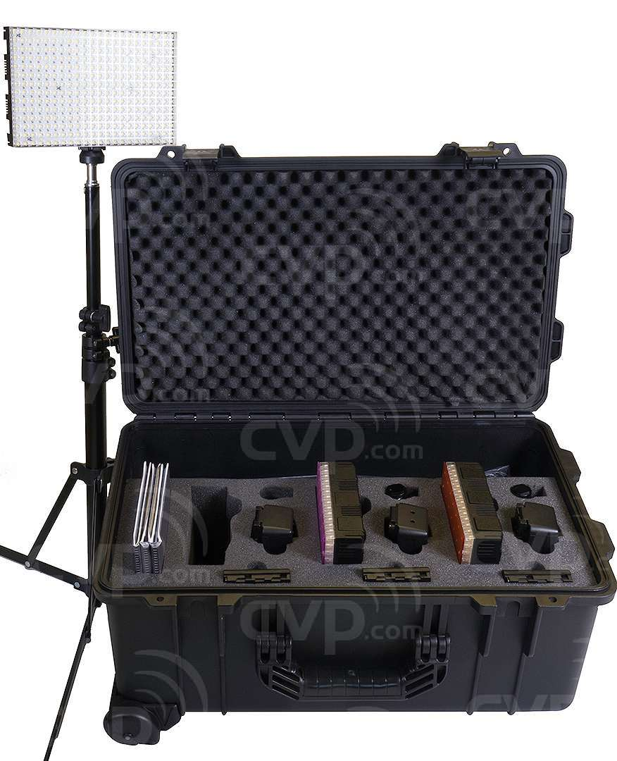 Datavision DVS-LEDGO-RK308 (DVSLEDGORK308) LEDGO Daylight LED Reporter Lighting Kit including