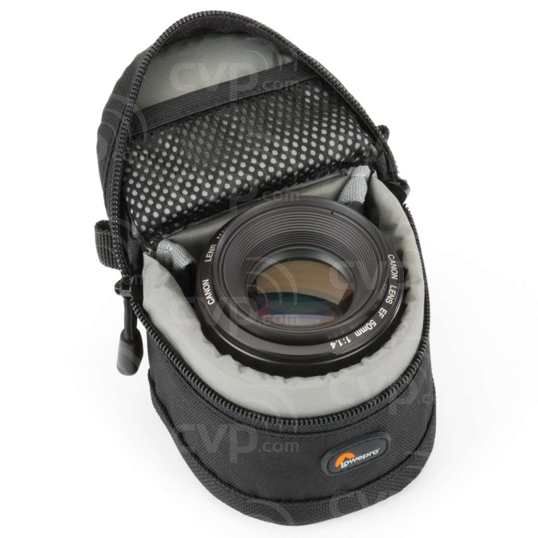 Lowepro lens case 8 x 6cm with lens