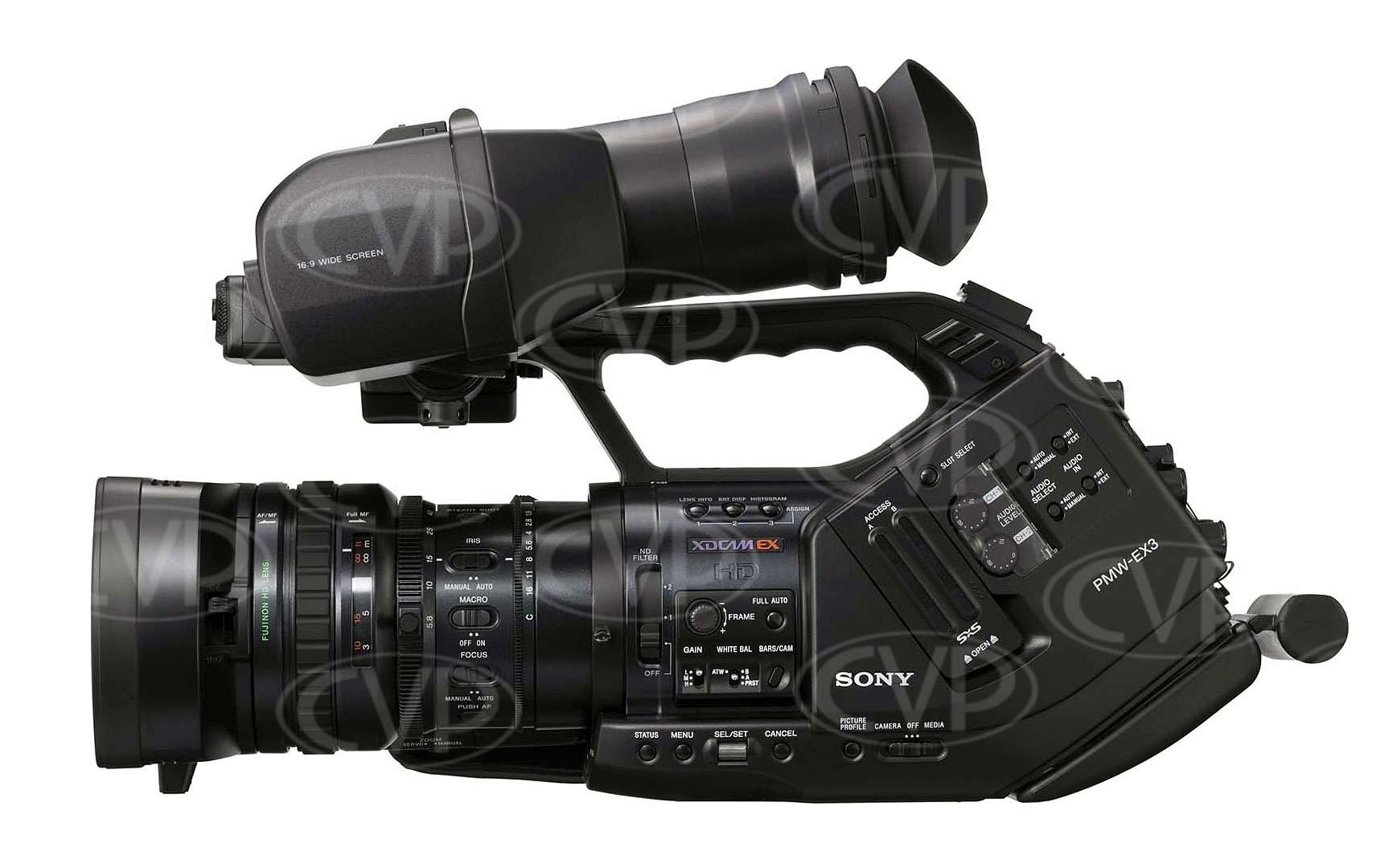 Sony PMW-EX3 LHS view