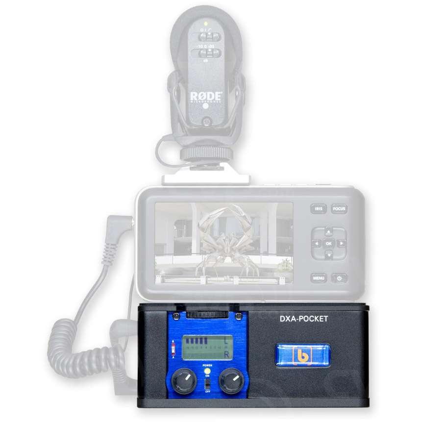 Beachtek DXA-POCKET (DXAPOCKET) Professional Compact Audio Adapter for DSLR Cameras