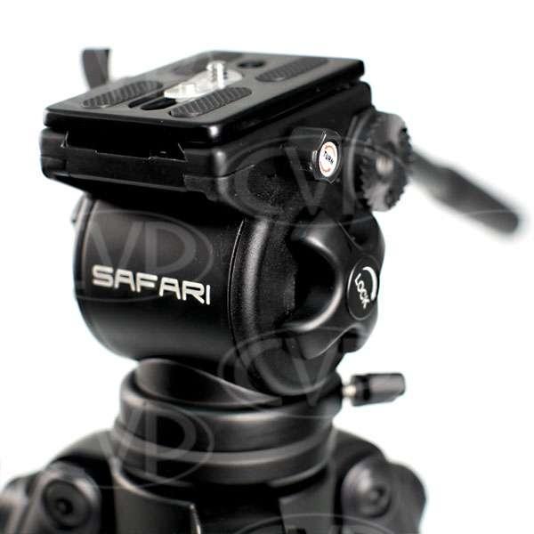 Safari R1100 (R-1100) Lightweight Carbon Fibre Tripod System
