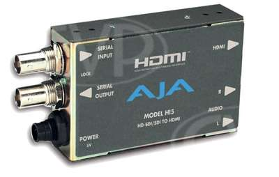 AJA Hi5 - HD-SDI/SDI to HDMI AV mini converter