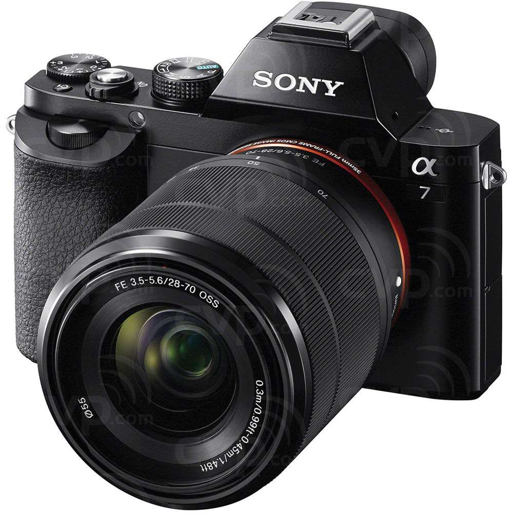 Sony (ILCE7KB.CE) Alpha A7 Digital Camera with FE 28-70mm f/3.5-5.6